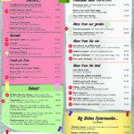 Fysarmonika-Food List